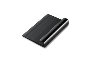 Hard PVC afsluitprofiel Zwart 360cm