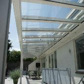 Terrasoverkappingen glas