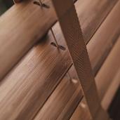 Houten jaloezie 50mm Bamboo Wood