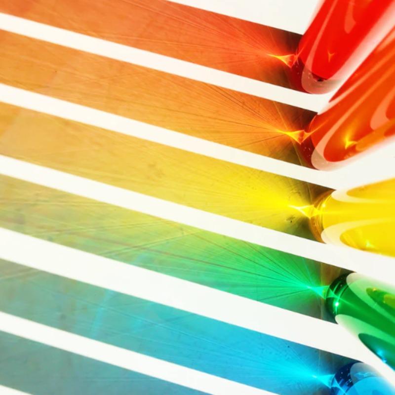 Kleur raamdecoratie
